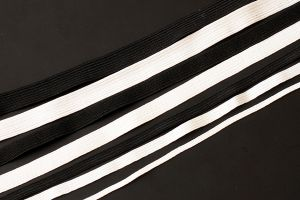 8-Cord elastic - white OUT OF STOCK