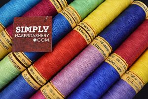 100% Cotton Gutermann thread