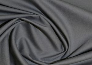 100% Cotton poplin plain dyed fabric dark grey