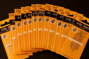 John James quality sewing needles