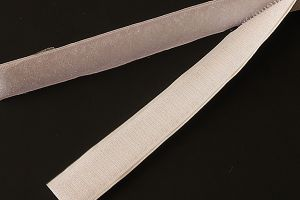 20mm (3/4 inch) hook & loop tape, stick and sew, white