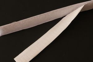 20mm (3/4 inch) hook tape, white, stick and stick