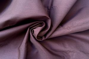 Plain dyed poly cotton Chocolate