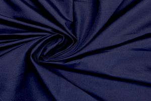Plain dyed poly cotton navy