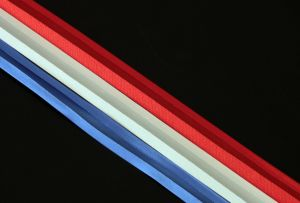 Satin bias binding, 17mm (3/4 inch)