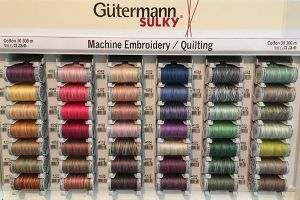 Gutermann Sulky Variegated Cotton Machine Embroidery Thread