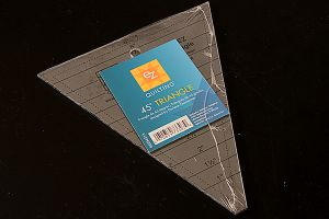 EZ Quilting 45° Triangle Template