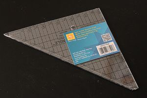EZ Quilting Easy Angle Triangle Ruler