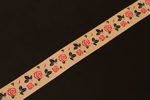 Vintage Rose Grosgrain 25mm (1 inch)