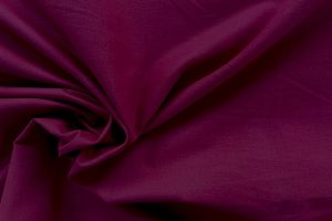100% cotton, plain dyed Wine